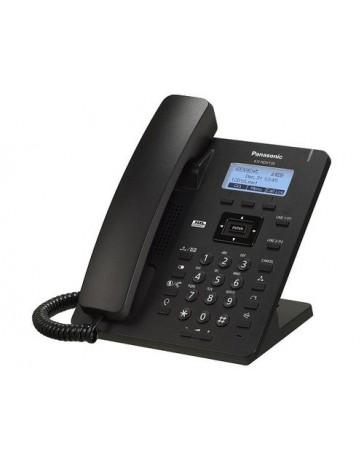 Panasonic KX-HDV130NE-B SIP telefon, fekete, HD hang, 2 LAN csatlakozó, 2 SIP vonal (POE)