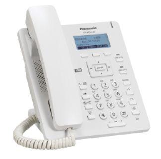 Panasonic KX-HDV130NE SIP telefon, fehér, HD hang, 2 LAN csatlakozó, 2 SIP vonal (POE)